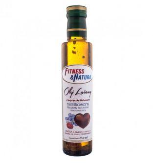 Olej lniany z papryczką habanero 250 ml