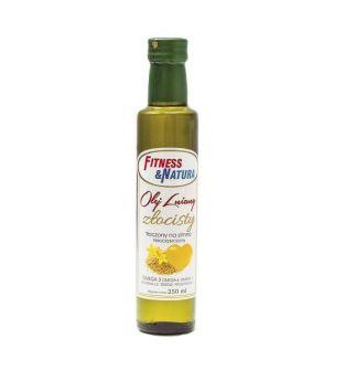 Olej lniany złocisty 250 ml