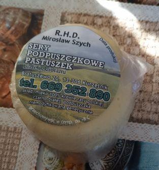 Ser podpuszczkowy biały i z ziołami