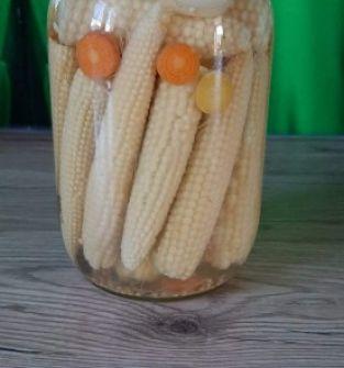 Kukurydza w delikatnej zalewie
