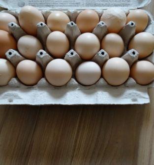 Jaja wiejskie, jajka