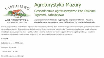 Gospodarstwo Agroturystyczne Pod Dwiema Tęczami