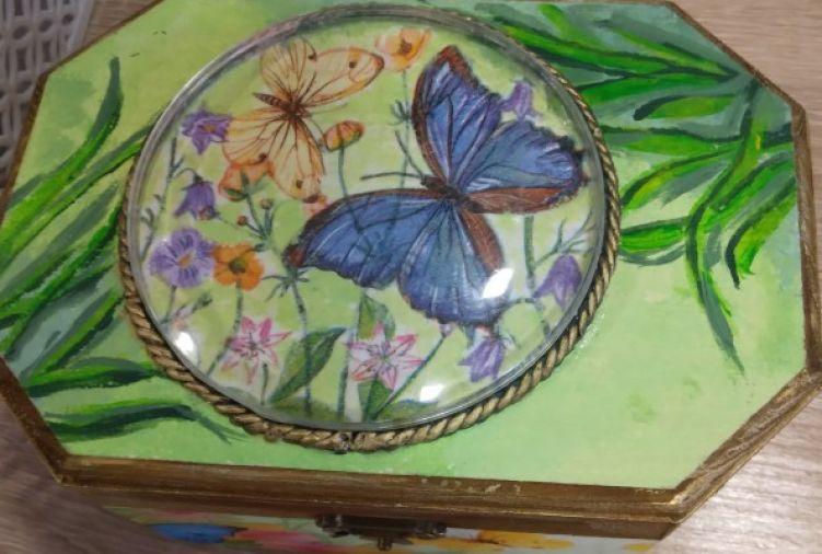 Szkatułka Motyl